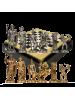 Шахматы Античные воины MP-S-15-28-BLA