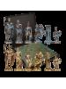 Шахматы Греко Романский период патина MP-S-3-B-28-TIR