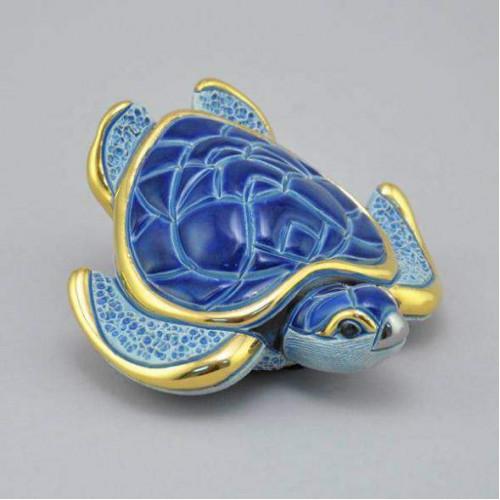 Статуэтка Морская черепаха синяя DR-F129