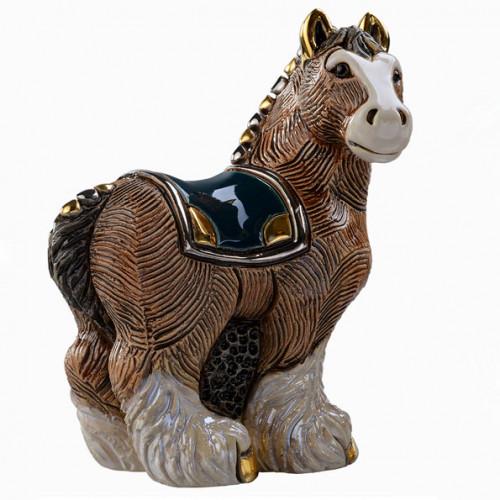Статуэтка Лошадь тяжеловоз DR-F191