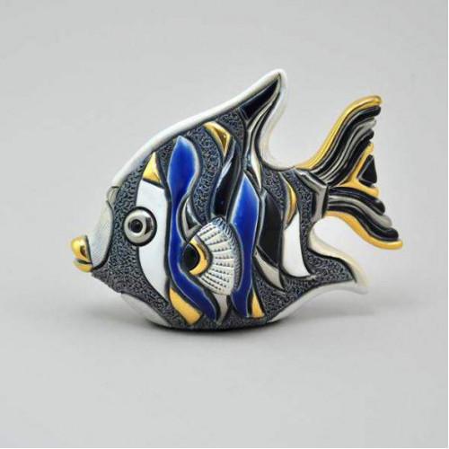 Статуэтка Рыба-Ангел синяя DR-F153