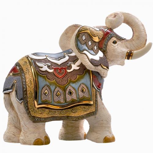 Статуэтка Белый индийский слон DR-457