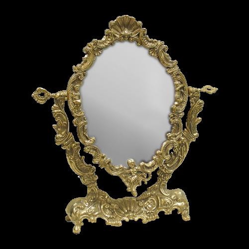 Зеркало настольное Ракушка AL-82-175